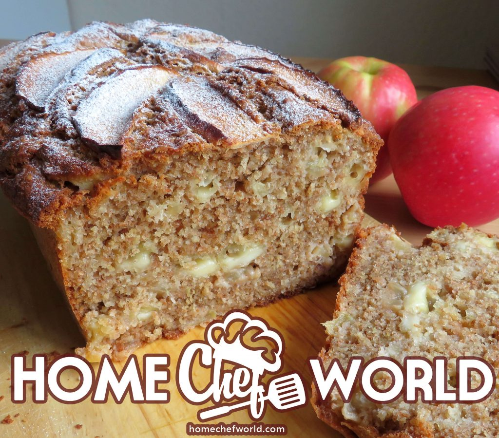 cheesy apple breakfast loaf