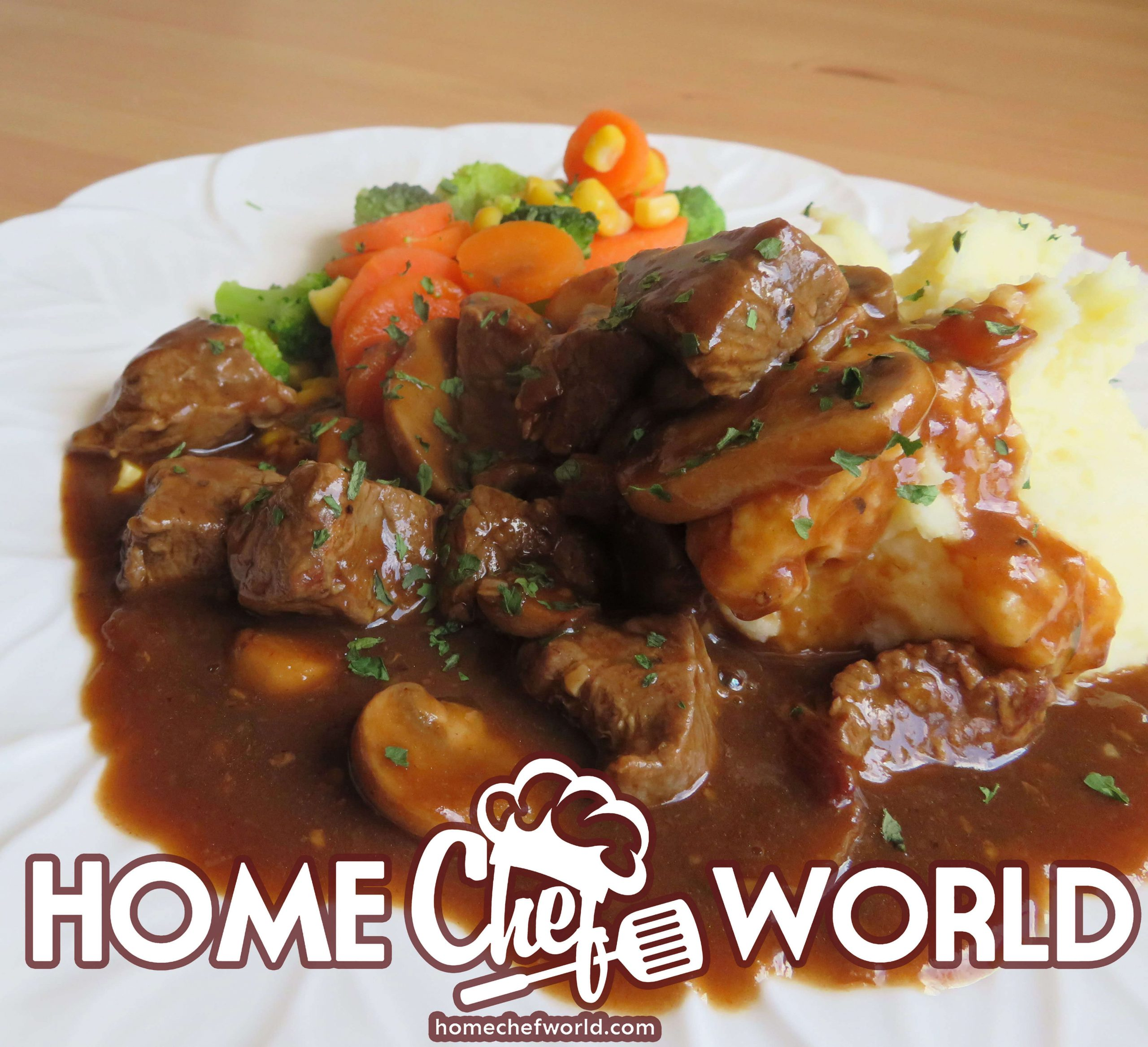 beef tips with mushroom gravy