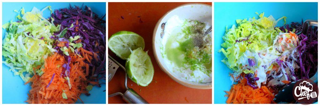 coleslaw preparation