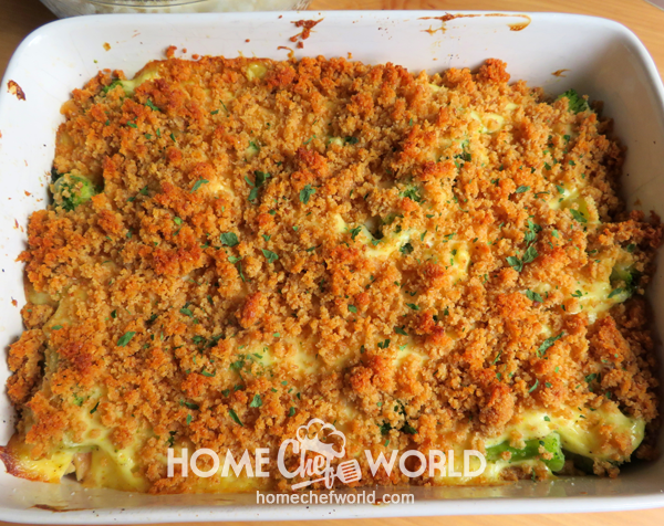Chicken Casserole Recipe Ready to Bake