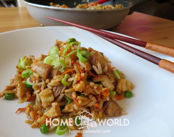 Classic Pork Fried Rice Ready Recipe