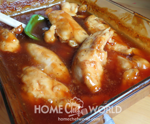Cooked Chicken for Sweet & Sour Chicken Wraps Recipe