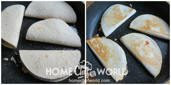 Cooking Quesadillas