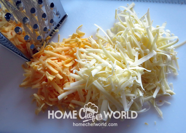 Grate Your Own Cheese Macaroni & Cheese with Tomatoes
