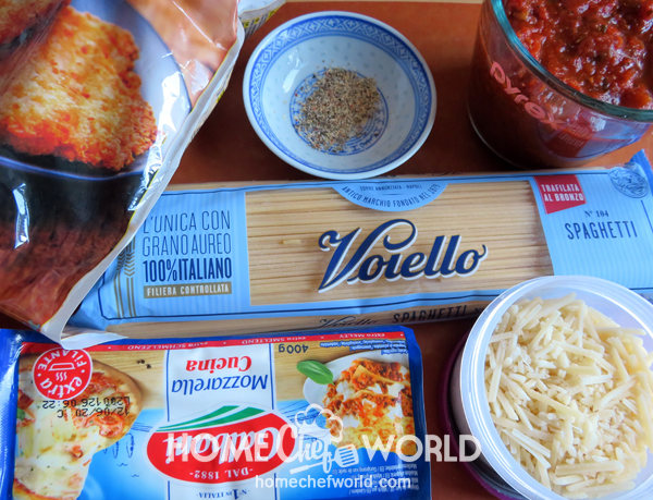 Ingredients for Easy Chicken Parmesan Recipe
