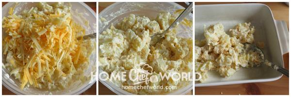 Prepping Potatoes for for Frank & Potato Bake Recipe