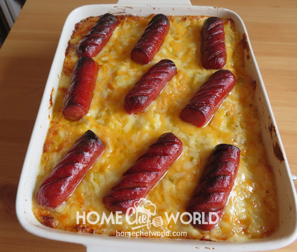 Frank & Potato Bake Recipe