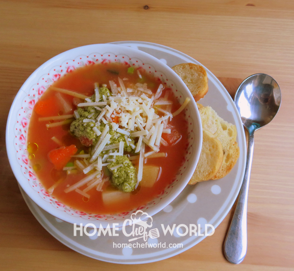 MINESTRONE SOUP - ALMOST INSTANT