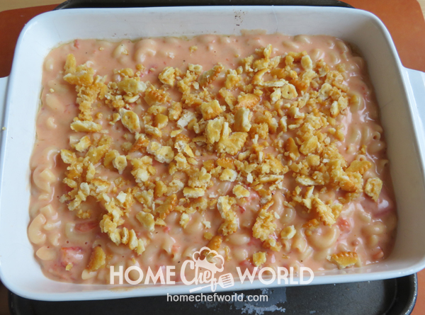 In Baking Macaroni & Cheese with Tomatoes Recipe