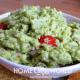 Avocado Guacamole Recipe Presentation