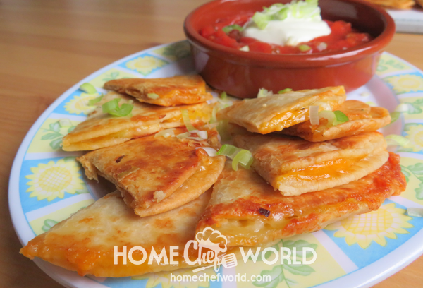 Cheese Quesadilla Ready to Eat