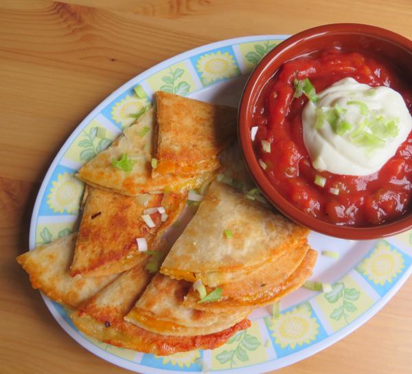 Cheese Quesadilla Recipe Ready to Eat
