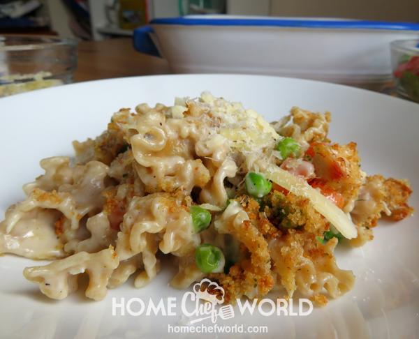 Chicken Noodle Casserole Recipe Ready