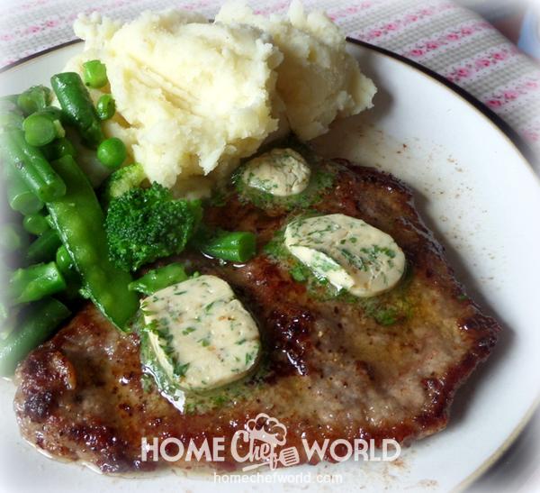 Cube Steak with Garlic Butter Recipe