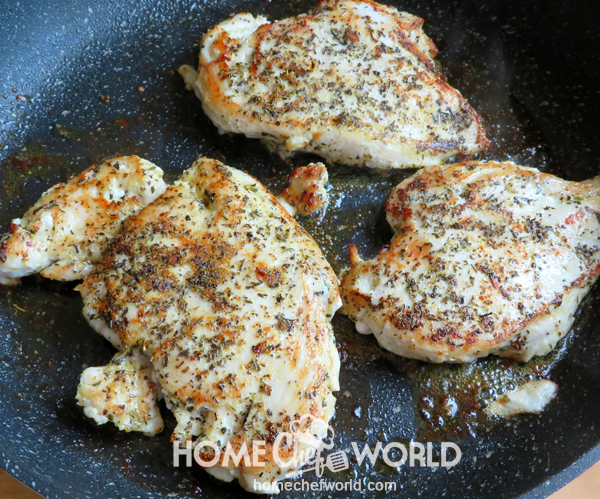 Grilling Chicken for Easy Chicken Margherita Recipe