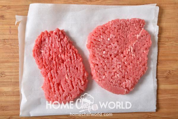 Meat Prepared for Cube Steak