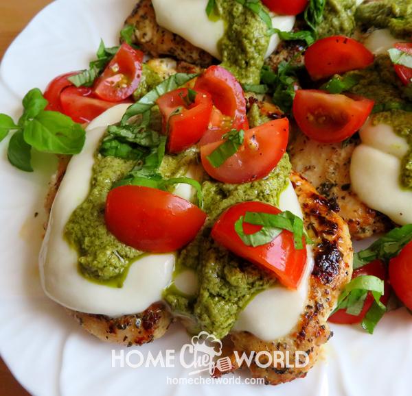 Recipe Easy Chicken Margherita