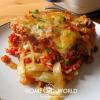 Tasty Cabbage Roll Casserole Recipe