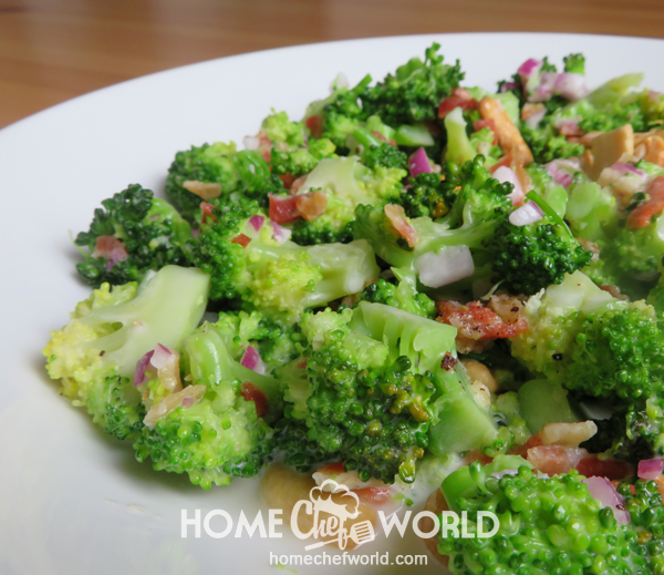 Broccoli Salad Ready to Eat