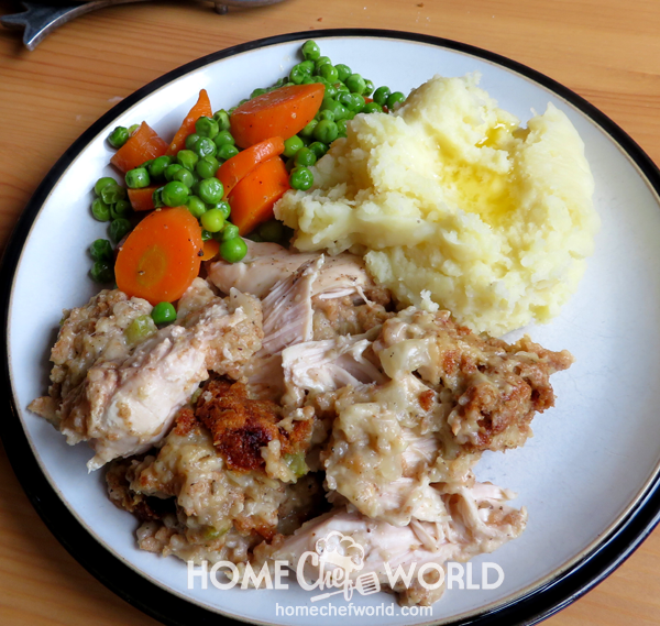 Crock Pot Chicken & Stuffing Recipe