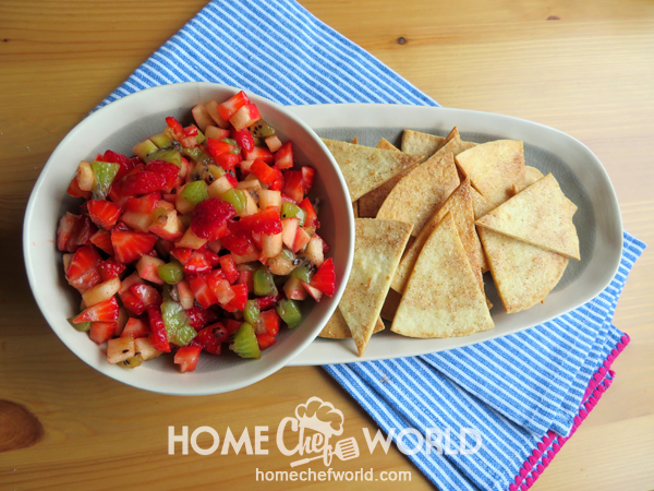 Fruit Salsa Ready to Serve