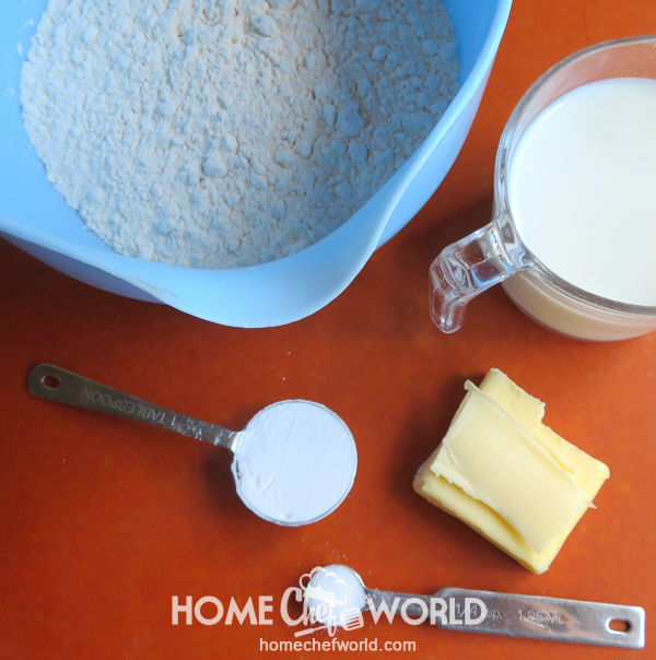 Ingredients for Quick and Easy Pizza Dough Recipe