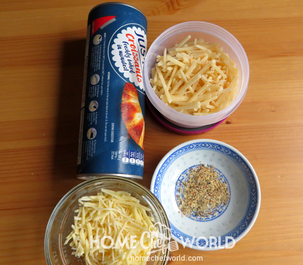 Ingredients for Stuffed Cheesy Bread Recipe