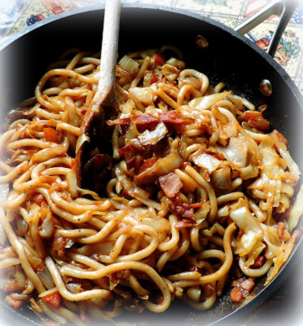Leftovers with Noodles