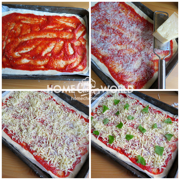 Old School Tomato Pizza Toppings