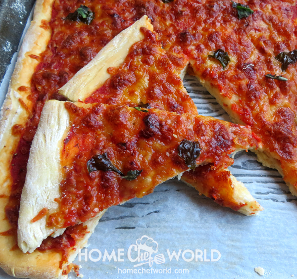 Quick and Easy Pizza Cheese and Tomato Sauce