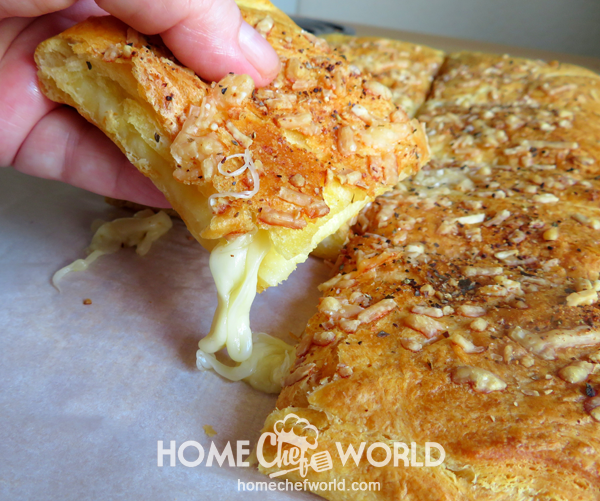 Recipe Stuffed Cheesy Bread