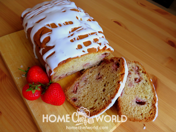 Strawberry Bread Ready to Serve