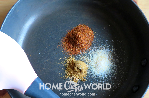 Toasting Spices for Red Beans And Rice Recipe