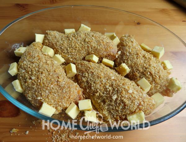 Adding Butter to Chicken
