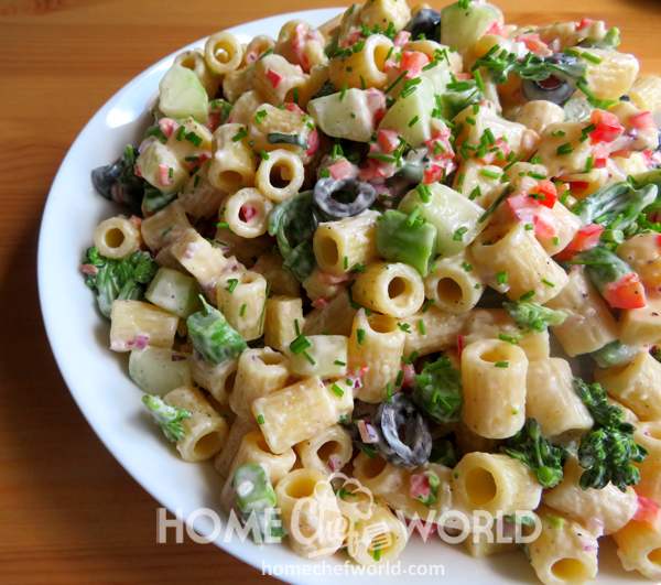 Creamy Pasta Salad Hints and Tips