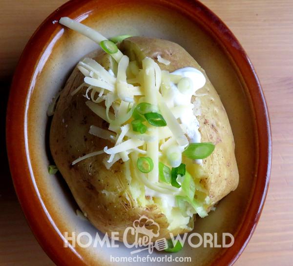 Crock Pot Baked Potatoes Ready to Eat