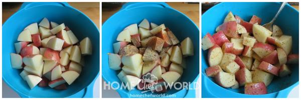 Prepping Potatoes