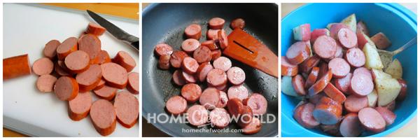Prepping Sausage