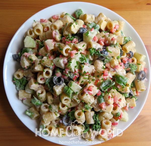 Tasty Creamy Pasta Salad Recipe
