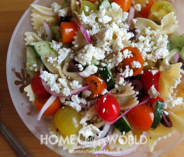 Tasty Mediterranean Pasta Salad