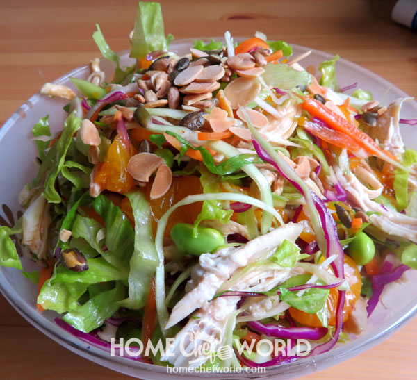 Asian Chicken Salad Hints and Tips