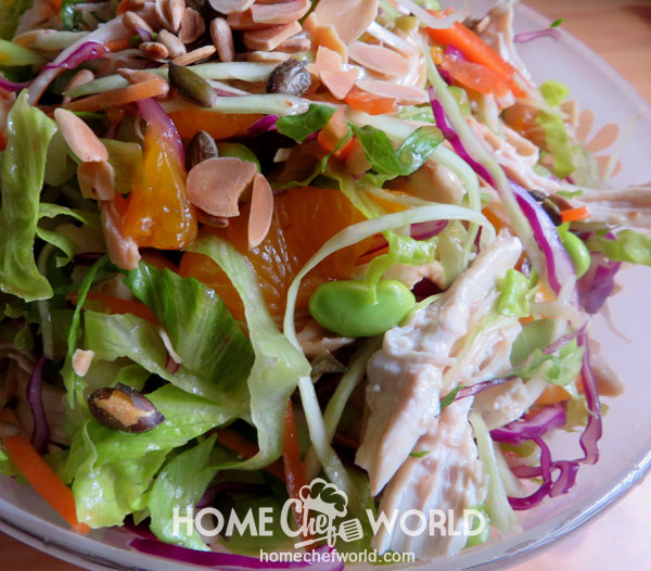 Asian Chicken Salad How to Make