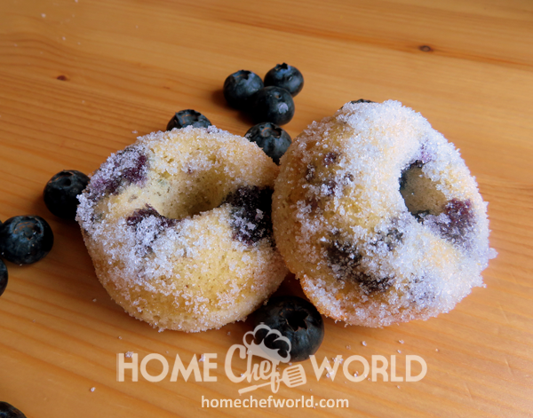 Baked Blueberry Donuts Recipe