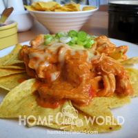 Crockpot Chicken Nachos Recipe