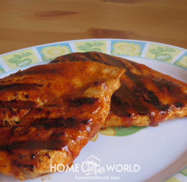 Grilled Chicken Breast with Sauce