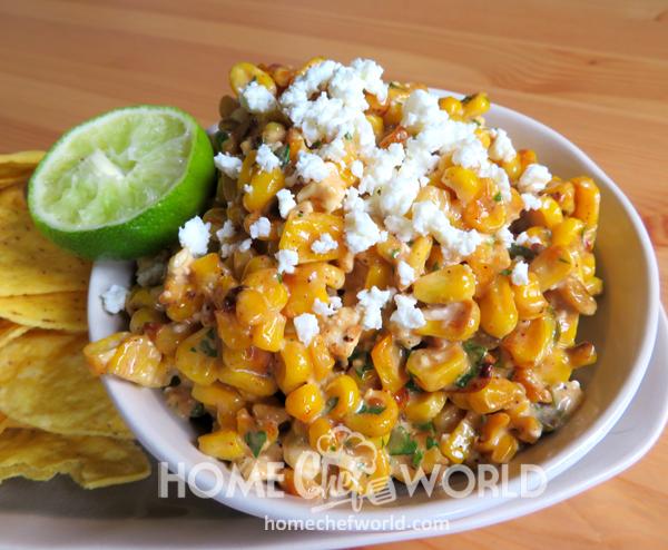 Mexican Corn Dip Course