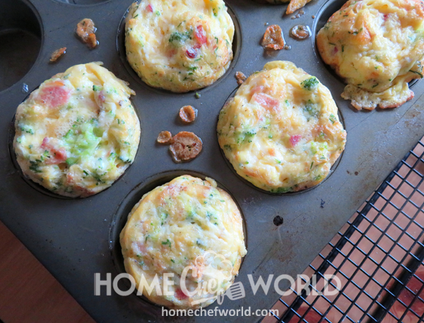 Out of Oven Egg Muffins