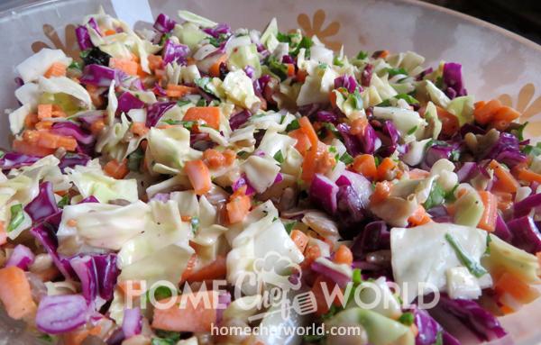 Sunflower Crunch Salad Recipe