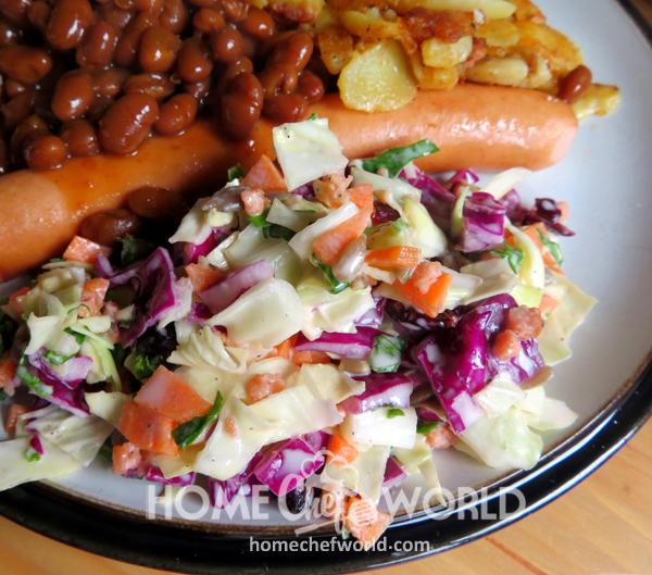 Sunflower Crunch Salad Serving Suggestion