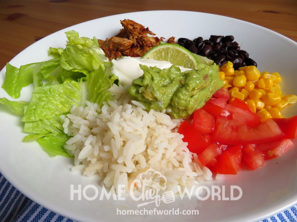 Tasty Chicken Burrito Bowls
